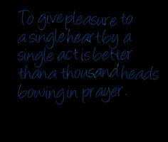 Single Act quote #2