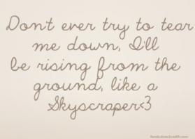 Skyscraper quote #1