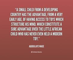 Small Child quote #2