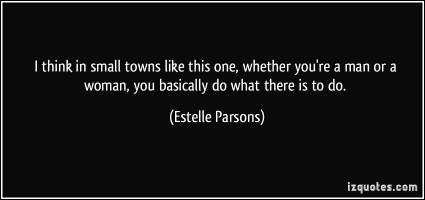 Small Towns quote #2