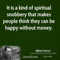 Snobbery quote #3