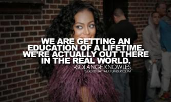 Solange Knowles's quote