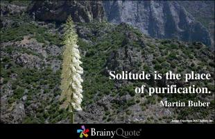 Solitude quote