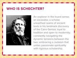 Solomon Schechter's quote