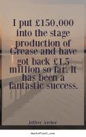 Stage Production quote #2