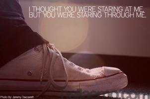 Staring quote #2