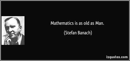 Stefan Banach's quote
