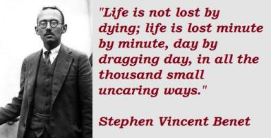 Stephen Vincent Benet's quote #2