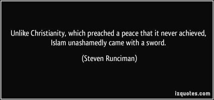 Steven Runciman's quote