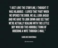 Storyline quote #1