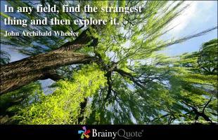 Strangest quote