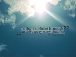 Sunbeam quote