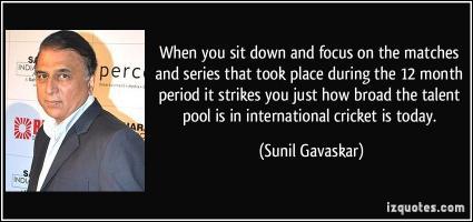 Sunil Gavaskar's quote #1