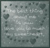 Sweetheart quote #2