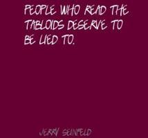 Tabloids quote #3
