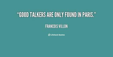 Talkers quote #2