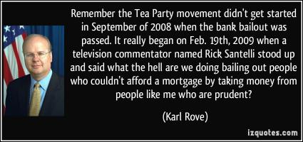 Tea Party Movement quote #2