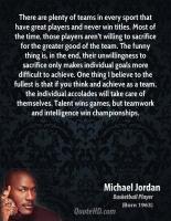 Team Sport quote #2
