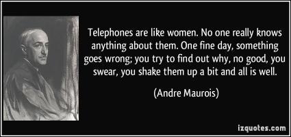 Telephones quote #1