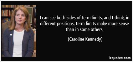 Term Limits quote #2