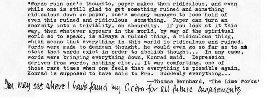 Thomas Bernhard's quote #1