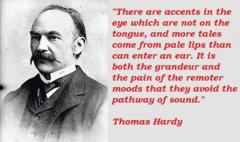 Thomas Hardy's quote