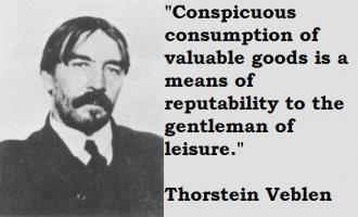 Thorstein Veblen's quote #6