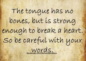 Tongue quote