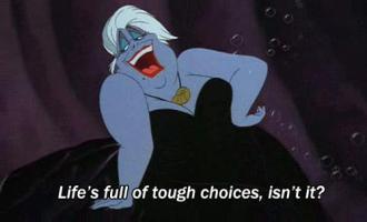 Tough Choices quote