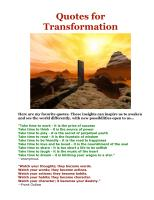 Transformations quote #2