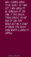 Truck Driver quote #2