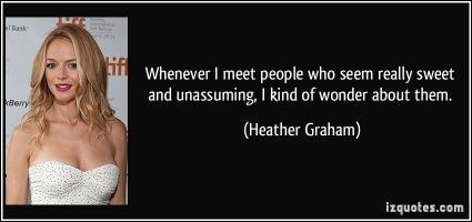 Unassuming quote #2