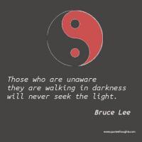 Unaware quote #1