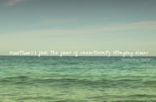 Uncertainties quote #2