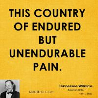 Unendurable quote