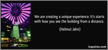 Unique Experience quote #2