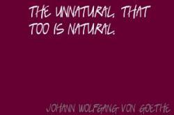 Unnatural quote #2