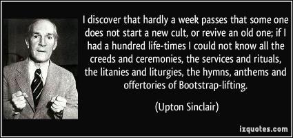 Upton Sinclair's quote #2