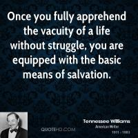 Vacuity quote
