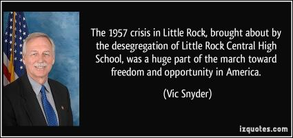 Vic Snyder's quote