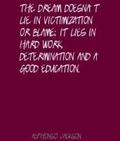 Victimization quote #2