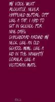 Victorian quote #1