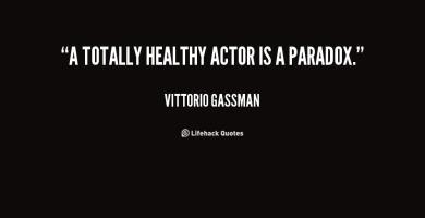 Vittorio Gassman's quote #1