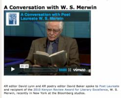 W. S. Merwin's quote #1