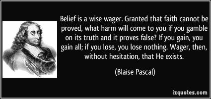 Wager quote