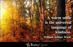 Warmth quote