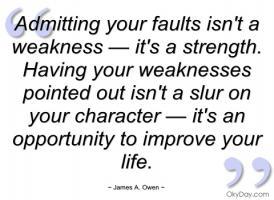 Weakens quote #1