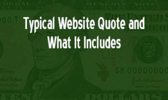 Website quote #1