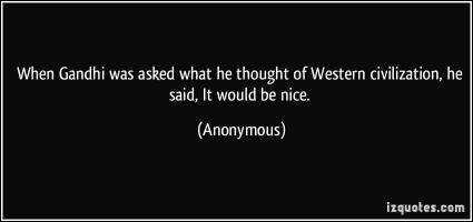 Western Civilization quote #2