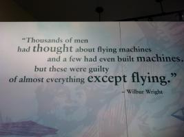 Wilbur Wright's quote